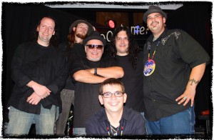 Cody Blackbird, Gerry Youngan, Ed Koban and Jim Wynn