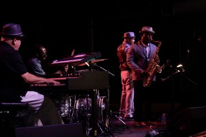 Gerry Youngman, Sean Jefferson, Mel Henderson and J.D. Allen at Exodus to Jazz
